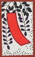 Tanzaku rouge